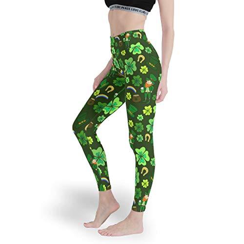 Leggings de gimnasio para mujer, para el día de San Patricio, pantalones de control de barriga, mallas para mujer