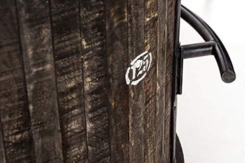 CLP Weinschrank Chicago aus Holz I Barwagen - 6