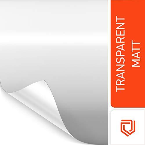 Luxshield Lackschutzfolie 15x200cm für Auto, Motorrad, Bike - Schutzfolie transparent matt, selbstklebend, Meterware aus DE