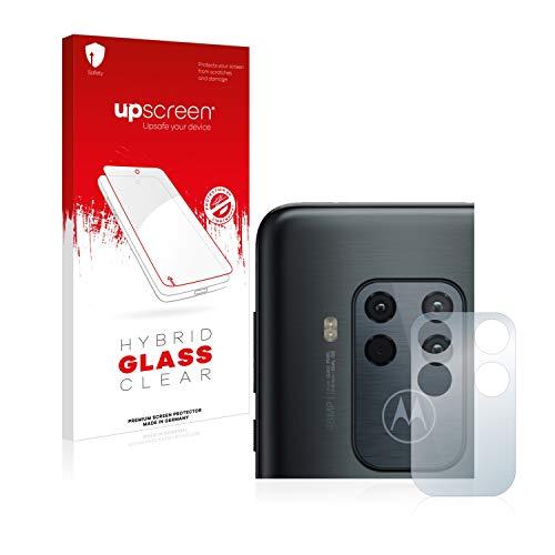 upscreen Hybrid Glass Panzerglas Schutzfolie kompatibel mit Motorola One Zoom (NUR Kamera) 9H Panzerglas-Folie
