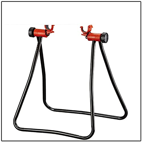 DGDH Bicycle Parking Rack, Bicycle Fast Parking Rack Foldable Repair Holder Triangle Adjustable Stand With Bracket Hook Robust And Durable