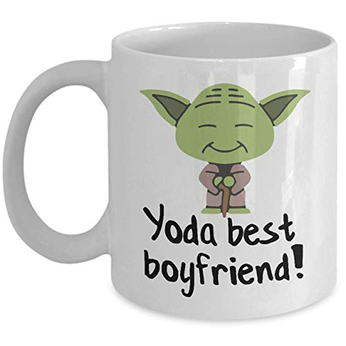 NA Taza Best Boyfriend Yoda Best Boyfriend Gift Best Boyfriend Gifts Taza...