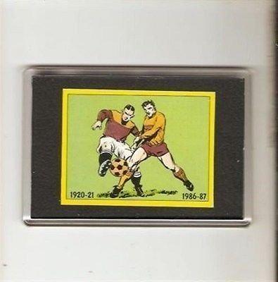 Panini 87 (1987) Old Kits football sticker in fridge magnet Motherwell FC