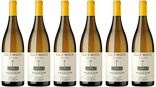 Domaine de la Poussie Pouilly Fumé La Croix Loire 2018 Wein (6 x 0.75 l)
