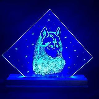 Lampada Husky (Multicolore, Art Deco)