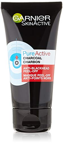 Garnier - SkinActive - Pure Active - Masque Peel-Off Anti-Points Noirs - Peaux Grasses à Imperfections - 50 ml