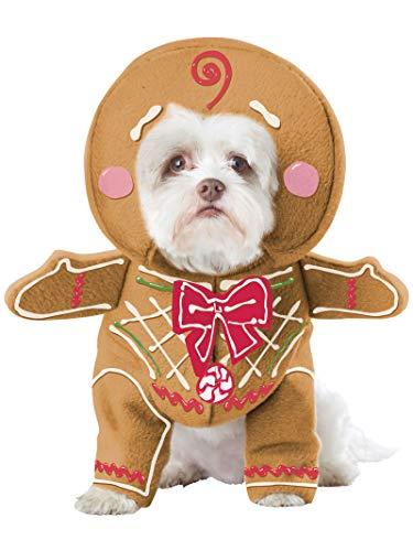 California Costumes Pet Gingerbread Pup Dog Costume Costume
