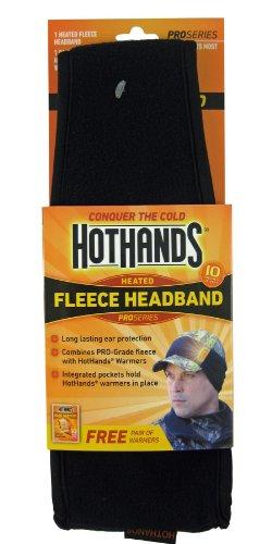 Heatmax Heated Fleece Headband (Black)