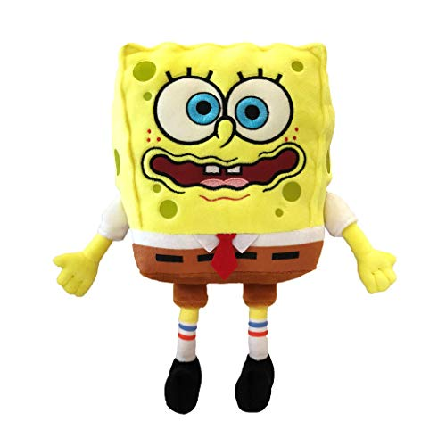 SpongeBob SquarePants Officially Licensed Exsqueeze Me Plush with Silly Burp Sounds - 8 Inches Tall