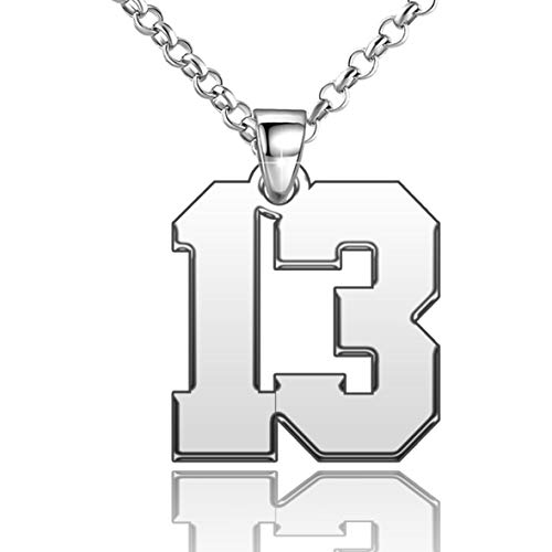 number 17 necklace - 2