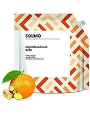 Solimo Handwash Liquid Refill, Orange Ginger - 1500 ml