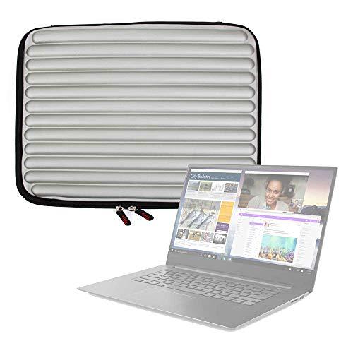 DURAGADGET Funda Gris con Espuma de Memoria Memory Foam para Portátil Lenovo ideapad 330-15IKBR, Lenovo ideapad 530S-14IKB - ¡Protección Ideal!