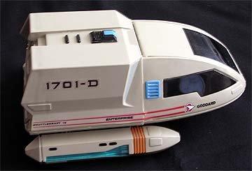 Star Trek Goddard Shuttlecraft NCC 1701-D USS Enterprise
