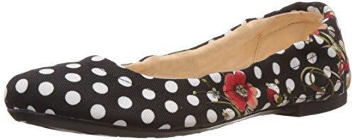 Desigual Damen Shoes DIENTE DE LEÓN Geschlossene Ballerinas, Schwarz (2000), 41
