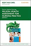 Elsevier Adaptive Learning for Health Assessment for Nursing Practice (Access Card)