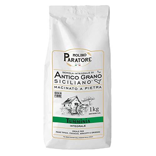 semola integrale di grano duro Tumminia - 5kg - Molino Paratore - macinata a pietra