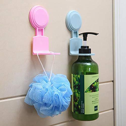 Forte aspiration sans trace mur crochet douche Gel shampooing stockage supports Rack maison cuisine salle de bains Organization de stockage