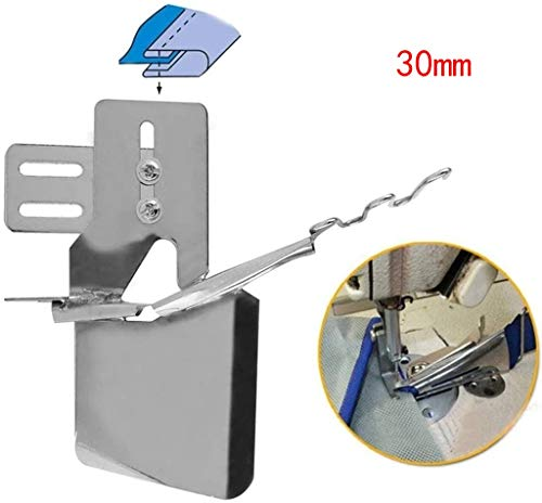 Binder Sewing Machine Presser Foot Fits All Low Shank Snap Industrial Sewing Machine Binding Attachment Folder (E)