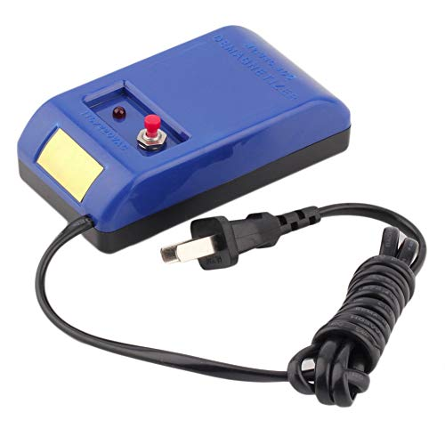 Mechanischer Entmagnetisierer für Armbanduhren, blaue Pinzette, Werkzeug für Kompakt-Schraubendreher (blau)