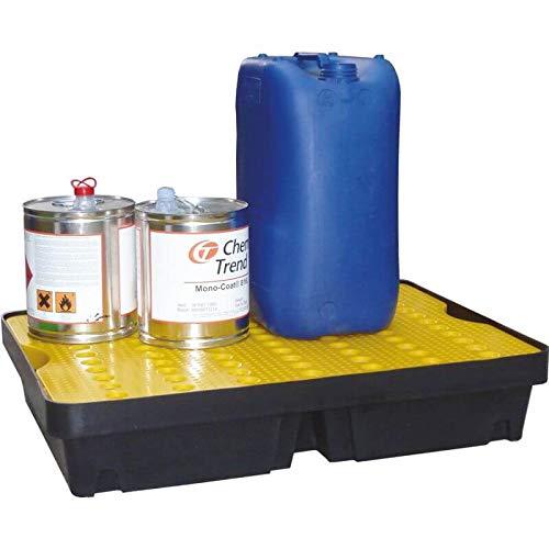 Vaschetta per versamento con griglia di superficie, capacità 40 litri