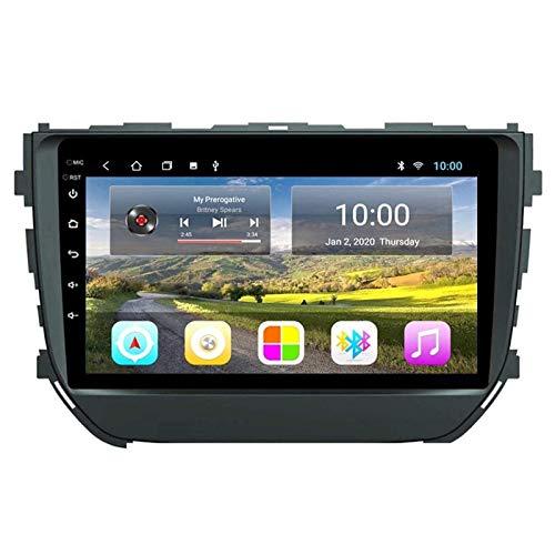 JALAL Android 8.1 Unidad Principal de Doble DIN Estéreo para automóvil para Suzuki Vitara Brezza 2016-2018, Navegación GPS Reproductor Multimedia