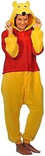 other Winnie The Pooh Piglet Eeyore Donkey Esel Tigger Tiger Känguru Onesie Kigurumi Pyjama Karneval Kostüm Maskenkostüm Kapuzenpulli Schlafanzüge Winnie The Pooh, XLHeight 180cm-190cm