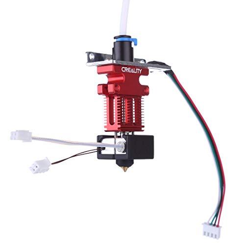 Xshion Estrusore per stampante 3D completamente montato per Creality CR-6SE / CR-5Pro / CR-6 MAX con cavi termistor con due ventole e riscaldatori a cartuccia