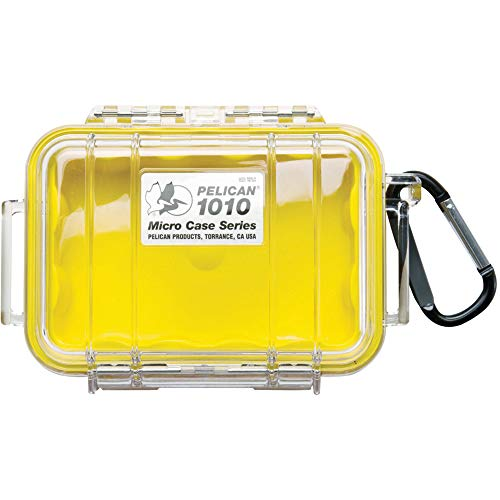 Pelican 1010 Micro Case Yellow/Clear