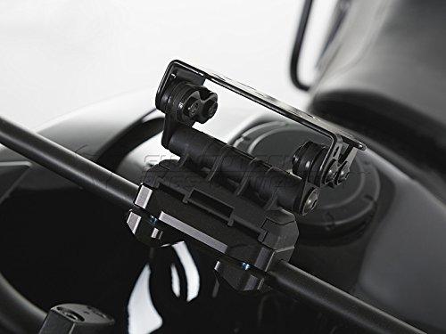 SW-MOTECH Navi-Halter an Rohr Ø 10/12 mm Schwarz
