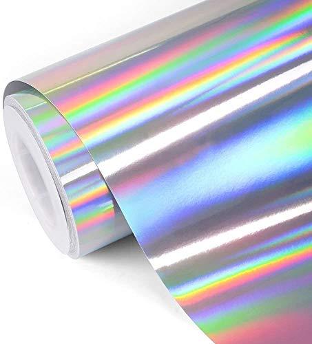 Healifty 5 stücke Wärmeübertragung Vinyl Film Glitter Eisen Auf HTV Vinyl für T-Shirts Sport Kleidung Taschen Andere Kleidungsstücke und Stoffe 10x12 Zoll (bunte)