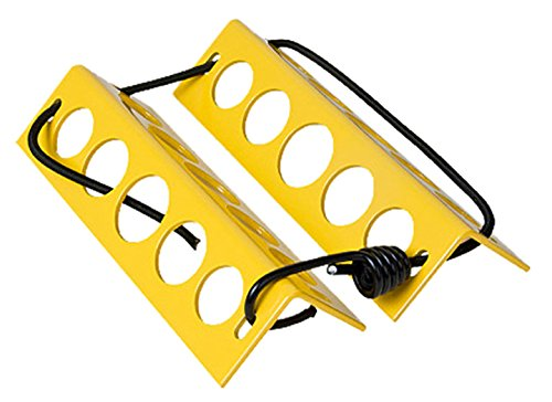 LJR - Handy Aluminum Wheel Chocks 2'x2'x8' (Yellow)