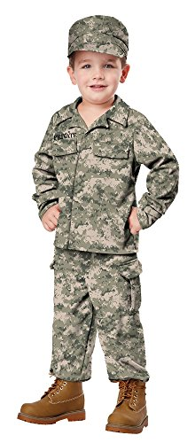 California Costumes Soldier Costume, One Color, 3-4