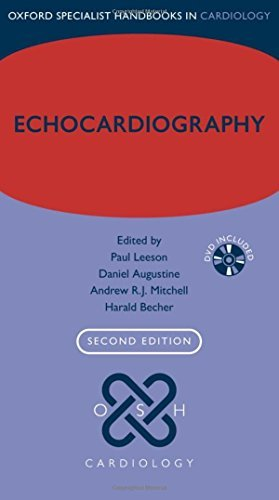 Echocardiography (Oxford Specialist Handbooks in Cardiology) by Paul Leeson Andrew R.J. Mitchell Harald Becher Daniel Augustine(2012-12-02)