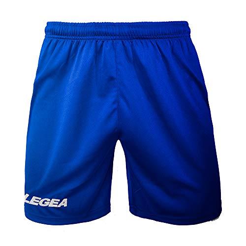 LEGEA P202 - Ropa Deportiva para Hombre, Hombre, Pantalones Cortos, P202, Azul Claro, X-Large