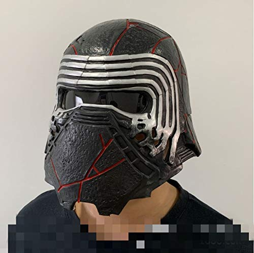 XULONG Halloween-Party-Requisiten, Kylo Ren Helm Cosplay Star Wars 9 Skywalker Maske...