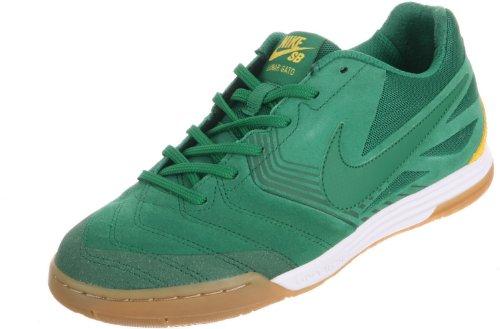 Nike Mens SB Lunar Gato WC Pine Green/Pine Green-Varsity Maize Suede Size 9.5