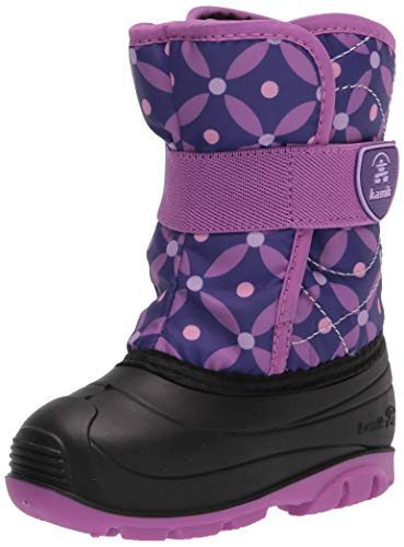 Kamik Girls Snowbug4 Snow Boot, Purple/Lavender, 9 Toddler