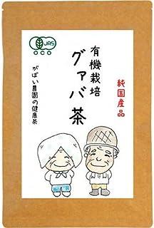 がばい農園 有機栽培 国産 手作り グァバ茶 2g×40包 オーガニック お茶 ノンカフェイン 健康茶 ティーバッグ