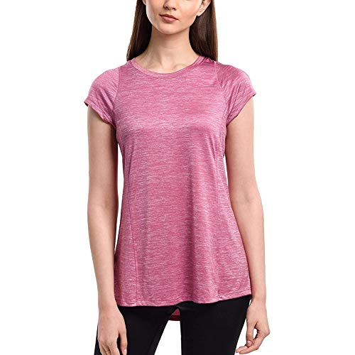 SPECIALMAGIC Camiseta de moda con manga corta y cuello redondo para yoga...