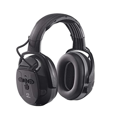 HELLBERG SAFETY Xstream LD Elektronischer Kapselgehörschutz mit Bügel, 48001-001, Gehörschutz mit Bluetooth für Musikstreaming