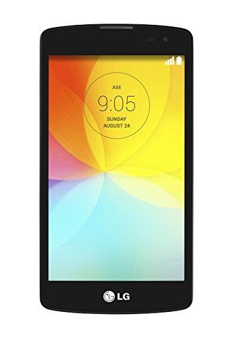 'LG D290L Fino–Smartphone Android (Bildschirm 4.5, 8MP Kamera, 4GB, Quad-Core 1,2GHz, 1GB RAM), Schwarz (Importiert)