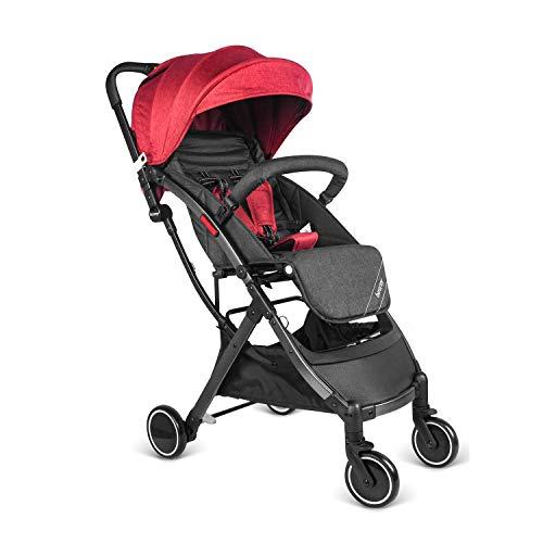 besrey Baby Lightweight Stroller Kids Pushchair Easy get on Airplane Cabin - Red