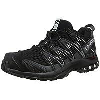 Salomon XA Pro 3D, Zapatillas de Trail Running para Hombre, Negro (Black/Magnet/Quiet Shade), 43 1/3 EU