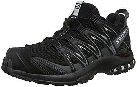 Salomon XA Pro 3D, Zapatillas de Trail Running para Hombre, Negro (Black/Magnet/Quiet Shade), 44 EU