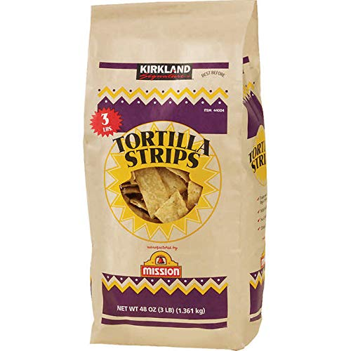 Kirkland Signature Restaurant Style Gluten-Free Tortilla Strips - 3 lbs.