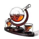YXZN Recipiente De Vino De 850 Ml Copa De Calavera Botella De Vino De Vidrio De Hueso De Globo, Vodka, Vidrio Artesanal, Whisky Sobrio Dispositivo