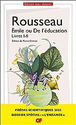 Émile ou De l'éducation - Livres I-II - Prépas scientifiques 2021-2022 de Jean-Jacques Rousseau
