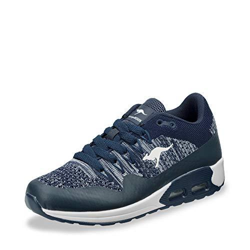 KangaROOS Unisex-Kinder Kanga X 5000 Sneaker, Blau (Dk Navy/White 4600), 33 EU