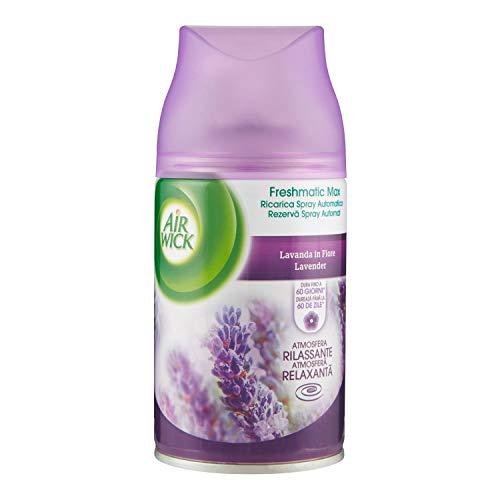 Air Wick Freshmatic Max Ambientador de Recambio Pradera Purpura de Lavanda - 250 ml