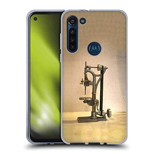 Head Case Designs Officially Licensed Celebrate Life Gallery Drill Press Tools Soft Gel Case Compatible with Motorola Moto G8 Power